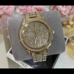 Mk diamond watch